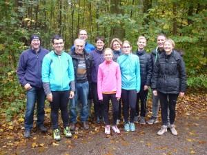 Gertrud Liebl vom TV Osterhofen gewinnt den Runners Point IsarCup 2015 in der Kategorie D35-